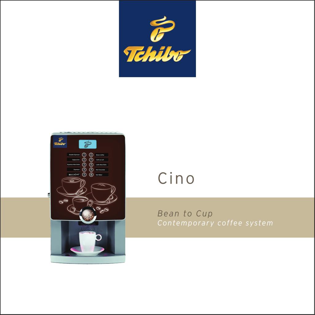 Bean To Cup Tchibo Coffee Service Manualzzcom