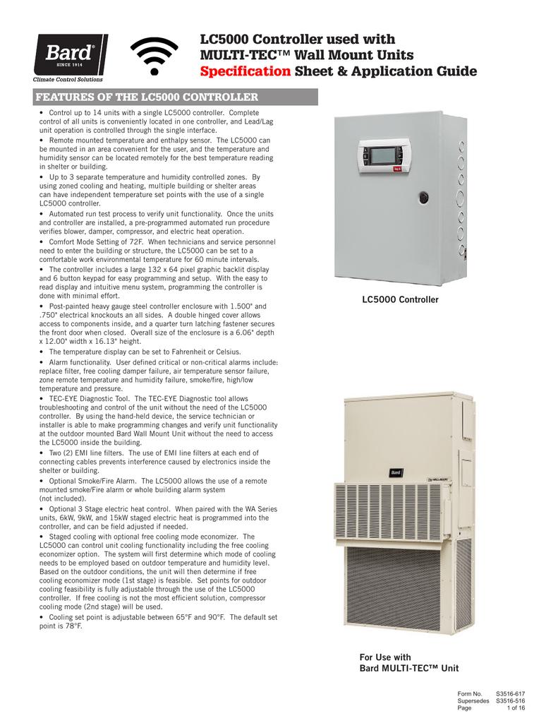 S3516 - Bard HVAC | manualzz.com on burnham boiler wiring diagrams, emerson motors wiring diagrams, asco wiring diagrams, amana wiring diagrams,