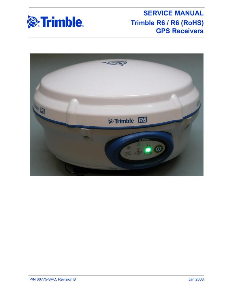 Trimble R8 GNSS/SPS880 GPS Receivers Service Manual | manualzz com
