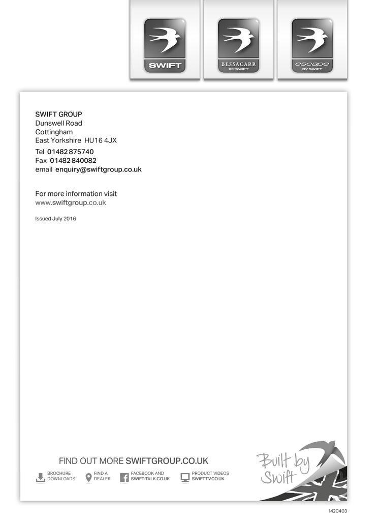 to view Swift Motorhomes Warranty info | manualzz com