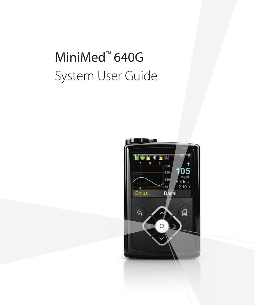 MiniMed™ 640G System User Guide - Medtronic | manualzz com