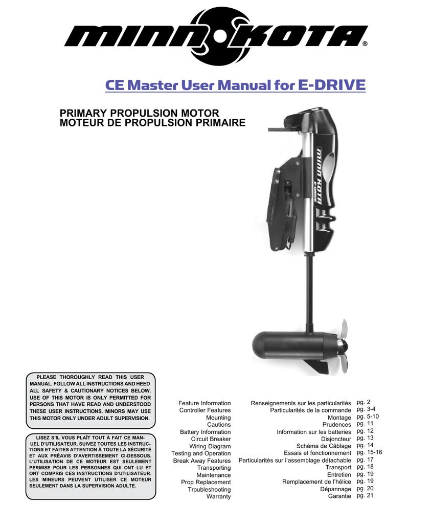minn kota® - installation instructions