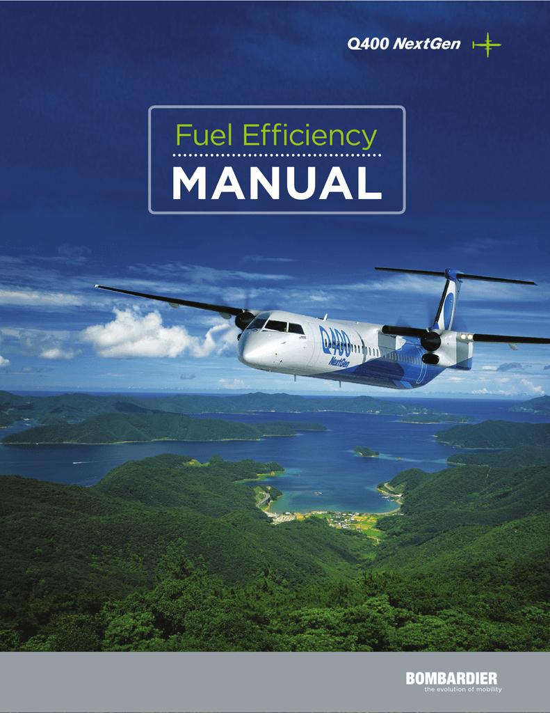 Q400 Fuel Efficiency Manual - Commercial Aircraft | manualzz com