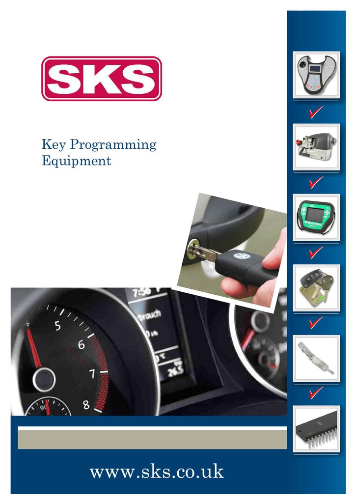 Key Programming Brochure 36SKS | manualzz com