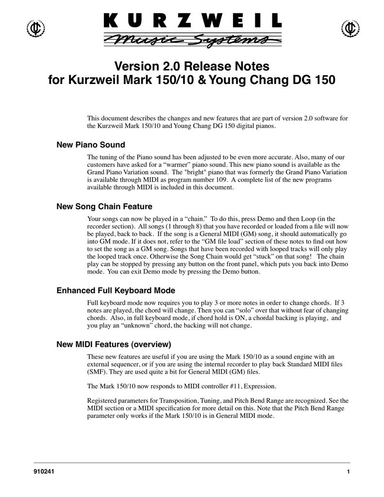V2 0 release notes fm | manualzz com