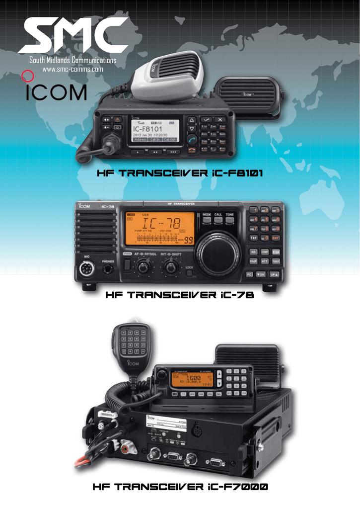 HF Transceiver IC-F8101 HF Transceiver IC   manualzz com