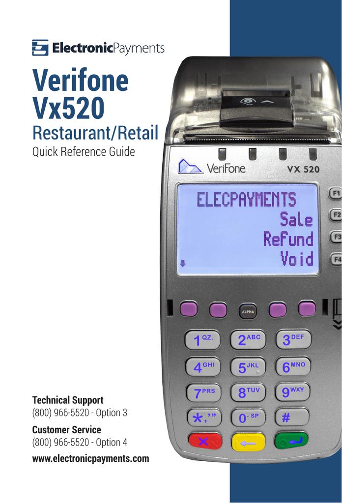 Verifone Vx520   manualzz com