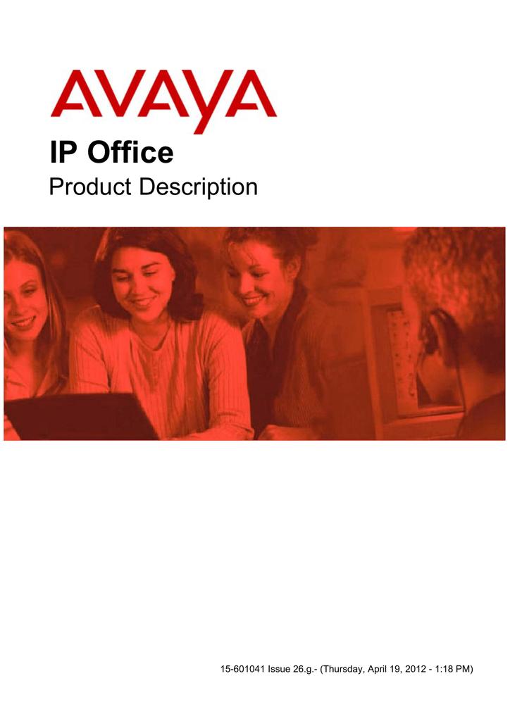 Product Description - Avaya Phone Systems   manualzz com