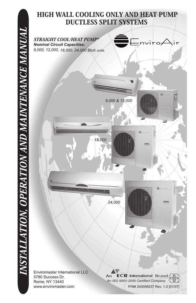 chigo ductless air conditioner compressor wiring diagram 240006537 iom chigo 1 0 indd manualzz  240006537 iom chigo 1 0 indd manualzz