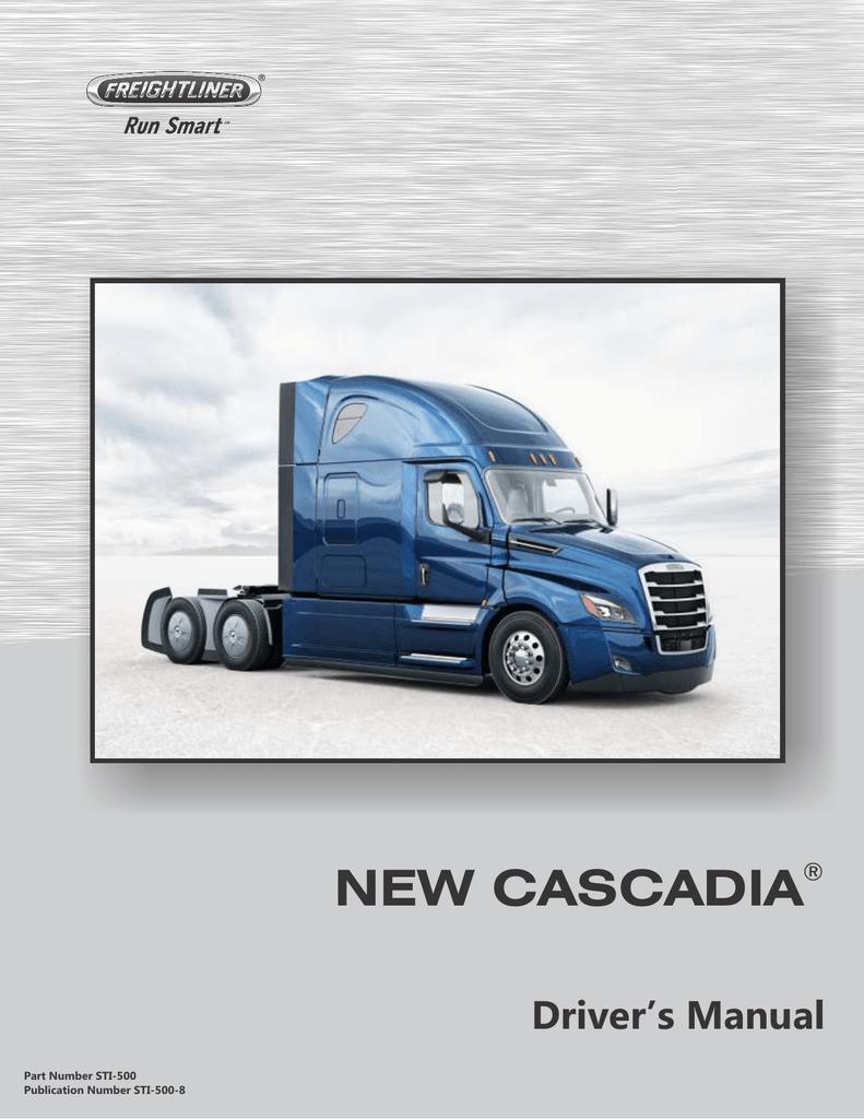 New Cascadia Driver`s Manual   manualzz com