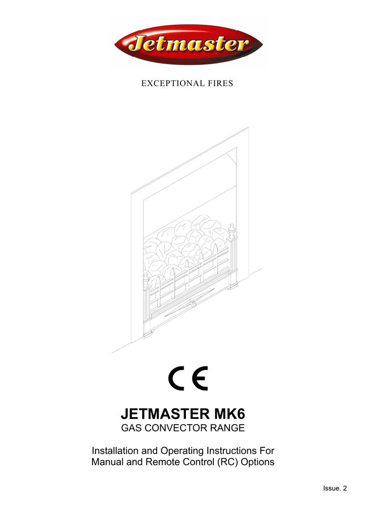 Jetmaster mark 2 gas coal manuals.