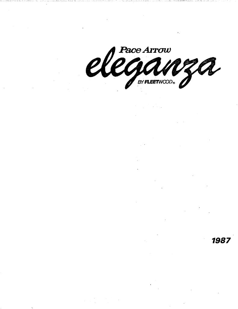 Pace Arrow Eleganza Brochure 40   Manualzz