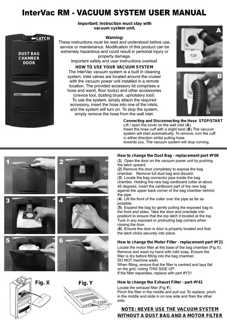 Model RM Manual (220-240V) - Intervac Design Australia   manualzz com