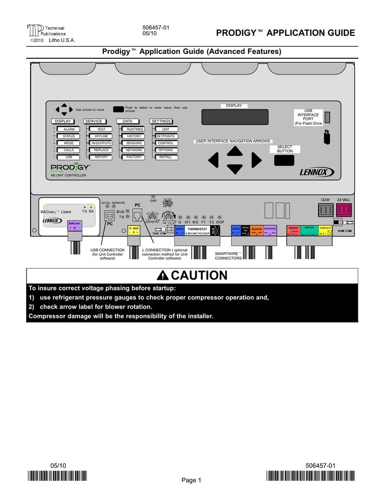 Lennox Prodigy Wiring Diagram