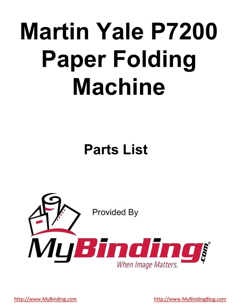martin yale p7200 instruction manual