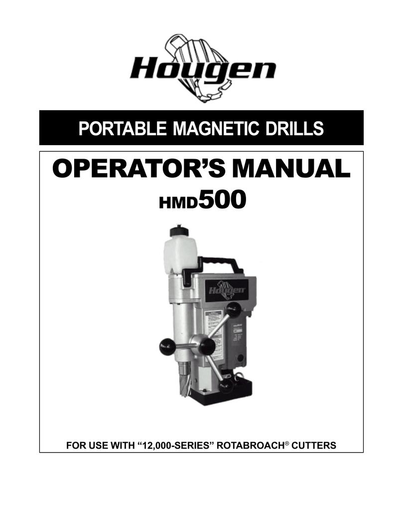 Hougen 12218 9//16-Inch Diameter Rotabroach 2-Inch D.O.C.
