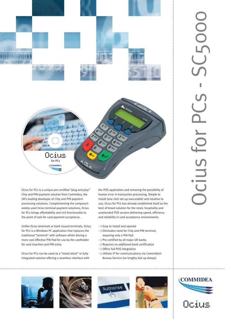 Ocius for PCs - SC5000 | manualzz com