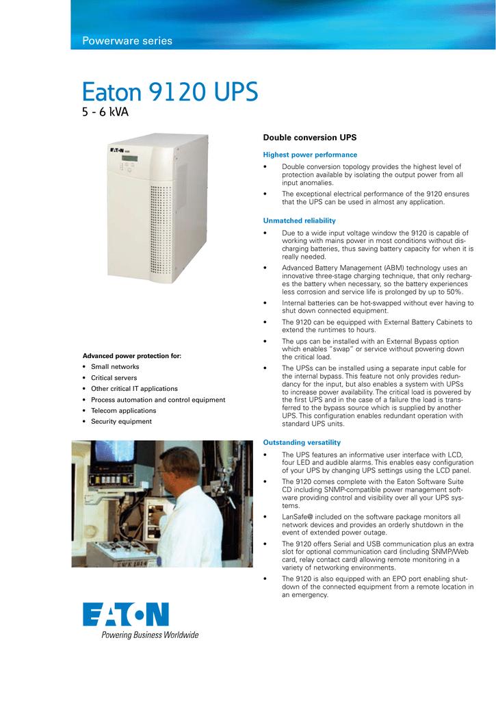 Eaton 9120 Ups Manualzz Com