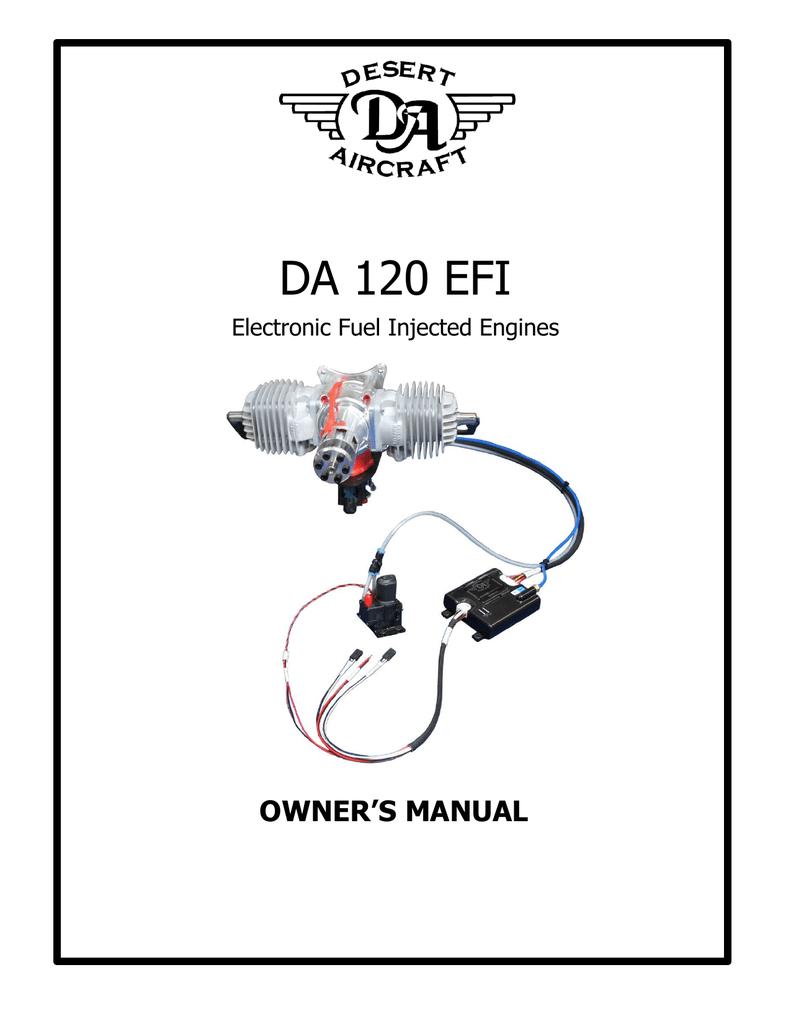 DA 120 EFI - HFE International | manualzz com