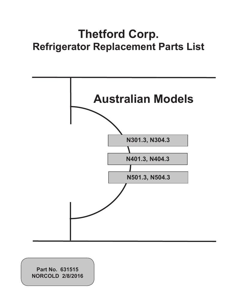 Australian Models Thetford Corp.   manualzz.com on