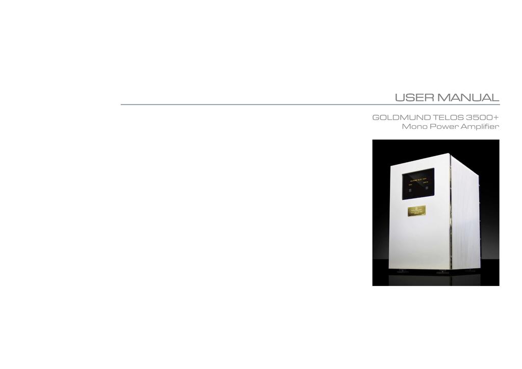 Telos 3500+ manual RevA | manualzz com