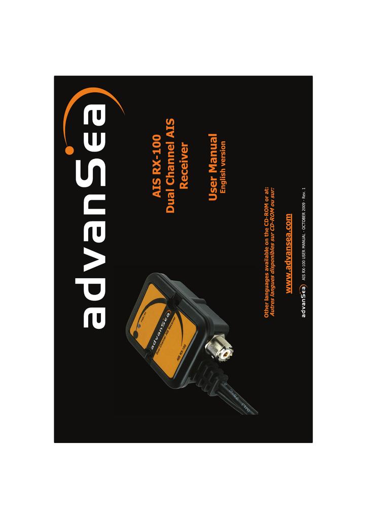 ADVANSEA AIS RX-100 DRIVERS (2019)