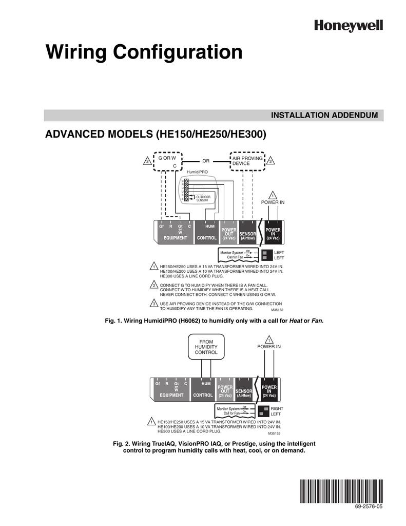 Honeywell He 300 Wiring Diagram - Wiring Diagram K8 on