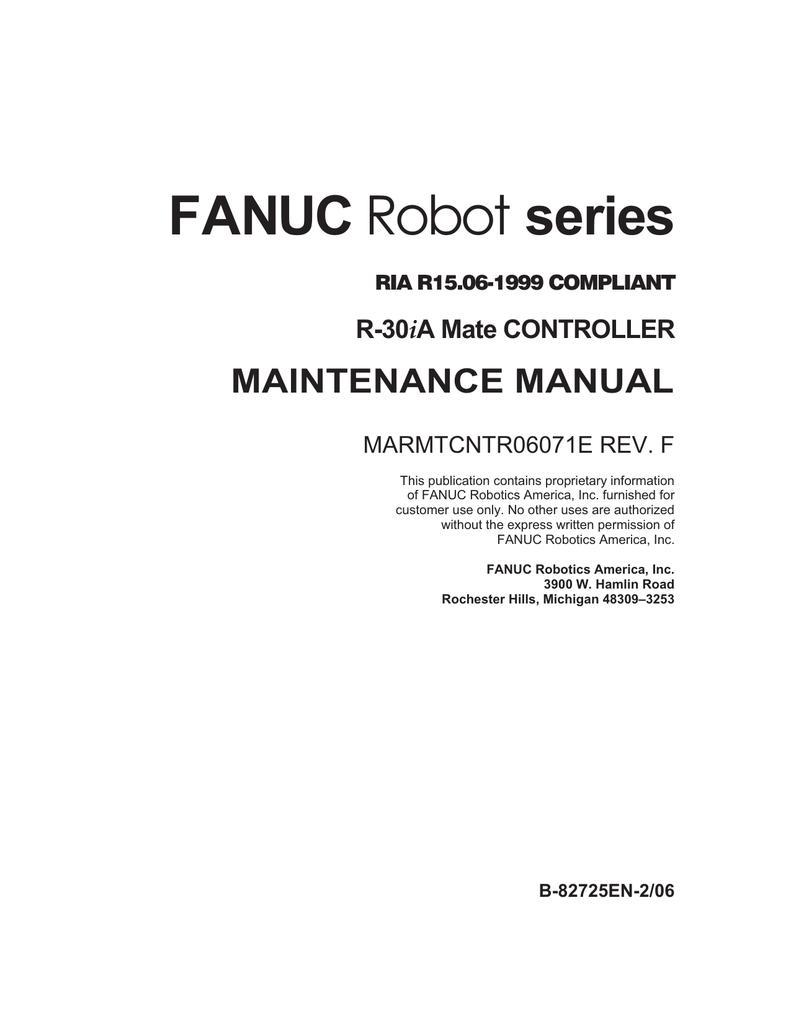 Fanuc Teach Pendant Manual