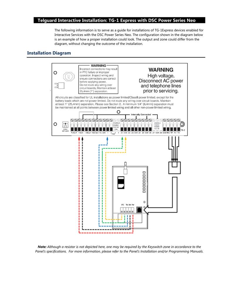 z8 wiring diagram telguard interactive installation tg manualzz  telguard interactive installation tg