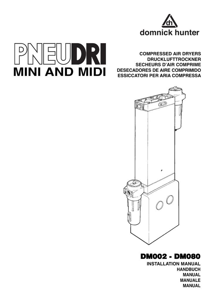 MINI AND MIDI - domnick hunter | manualzz.com