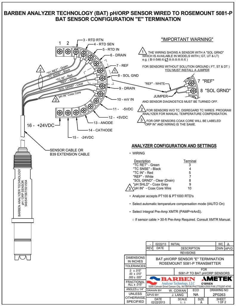 [SCHEMATICS_44OR]  Rosemount 5081 pH Transmitter | Manualzz | Rosemount Wiring Diagram |  | manualzz