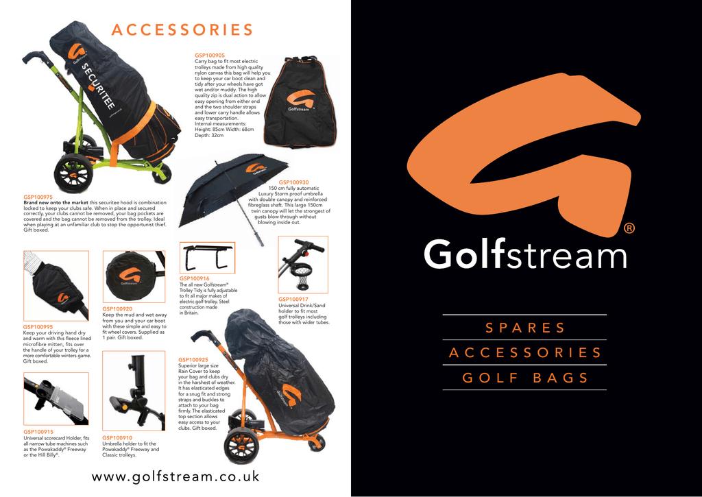 accessories - Golfstream   manualzz com