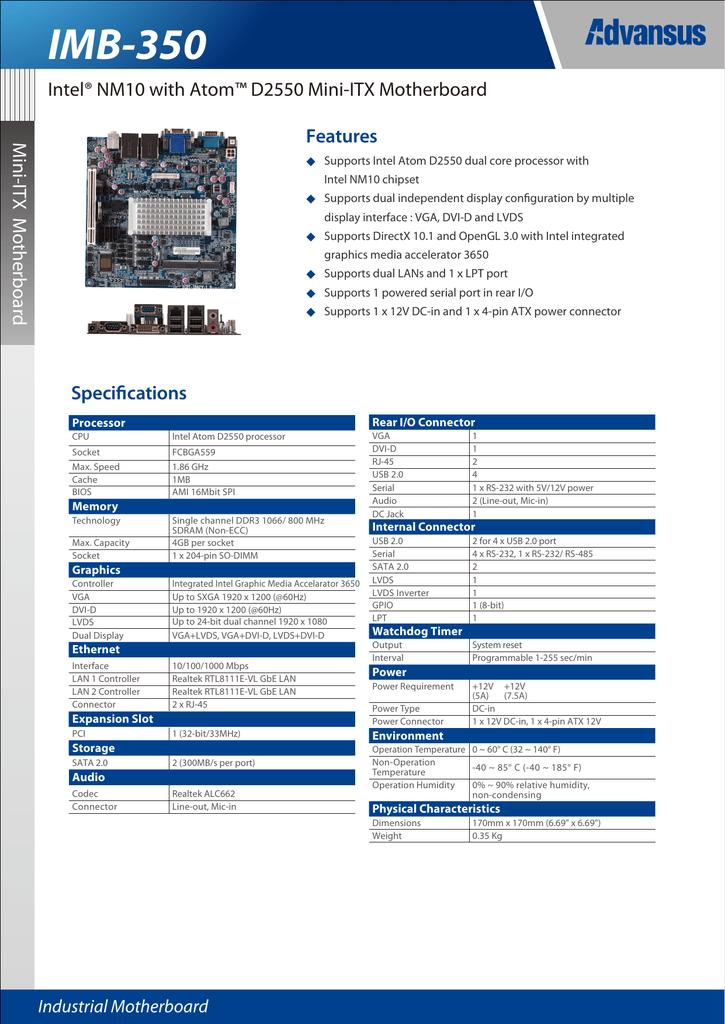 IMB-350 - UDM Group Technology co ,ltd  | manualzz com