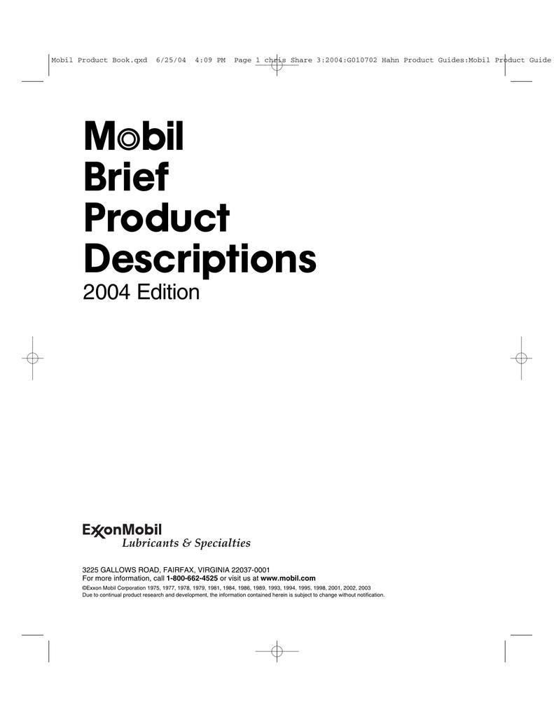 bil Brief Product Descriptions | manualzz com