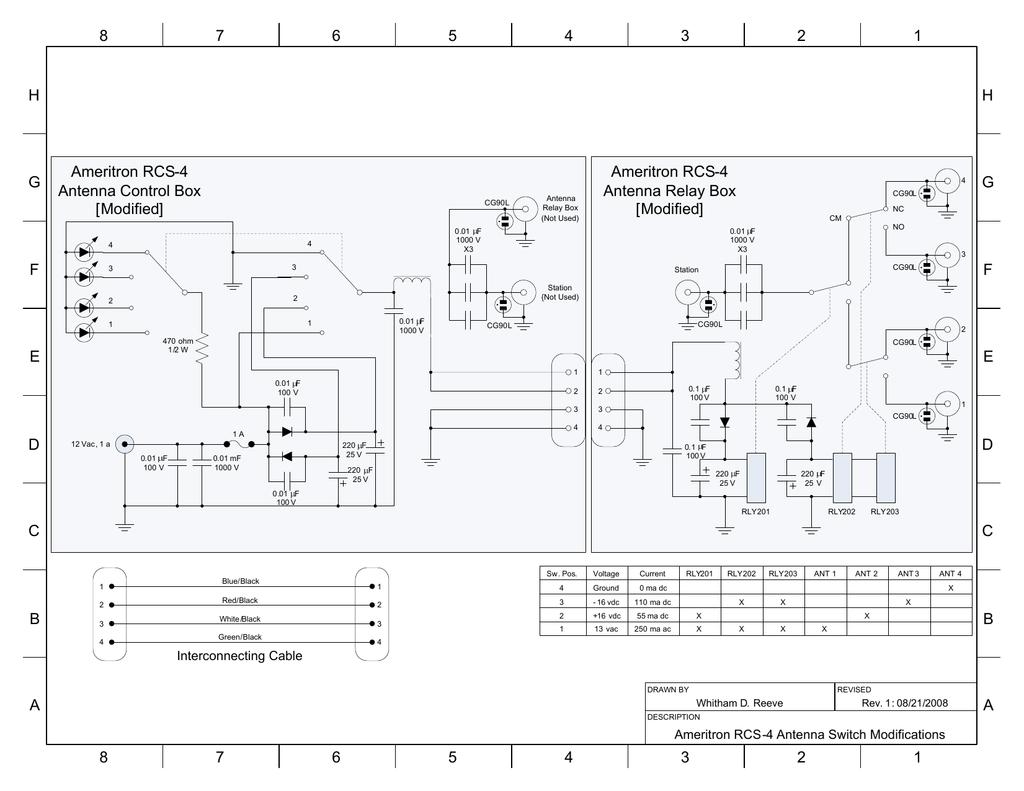 Visio-Ameritron RCS-4 Modification vsd | manualzz com