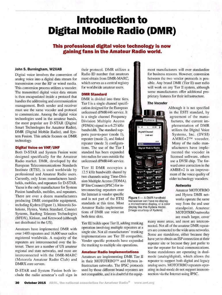 Introduction to Digital Mobile Radio | manualzz com