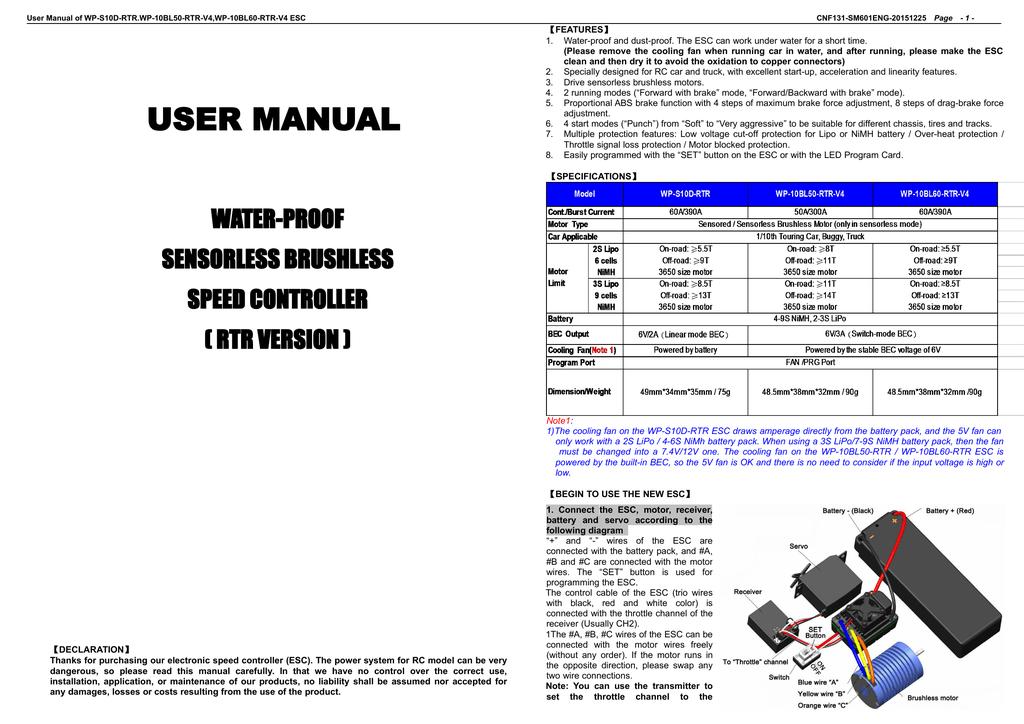redcat wiring diagram manual redcat racing manualzz  manual redcat racing manualzz