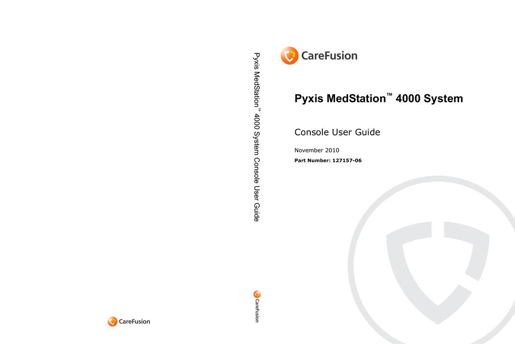 pyxis medstation 4000 system