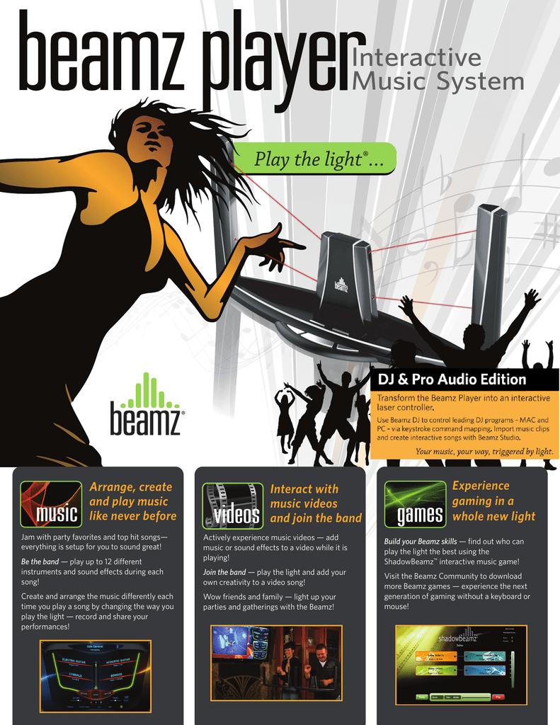 Beamz DJ Software | manualzz com
