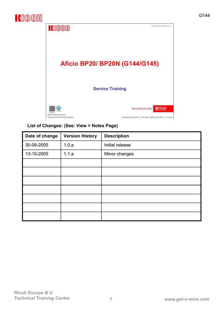 AFICIO BP20 PCL6 TREIBER WINDOWS XP