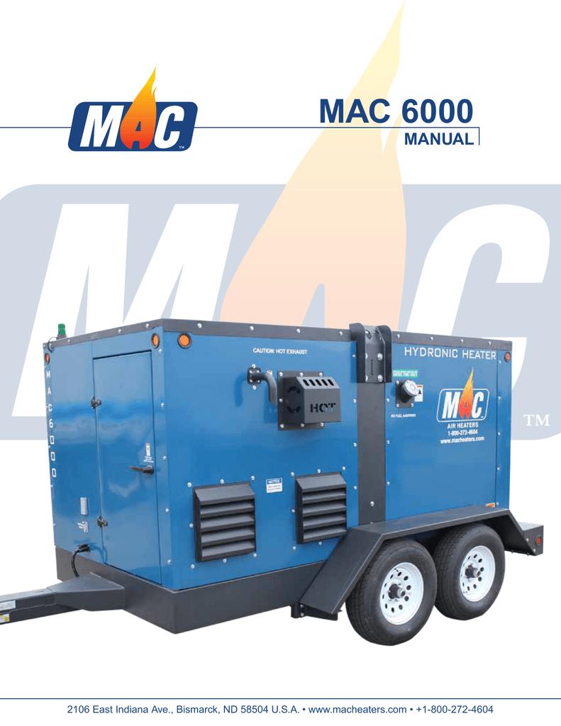 Mac 6000 Generac Mobile Products Manualzzcom
