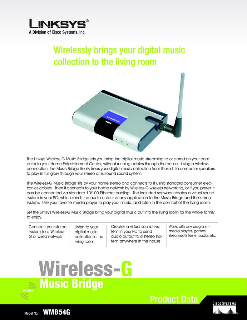 Wireless-G | manualzz com