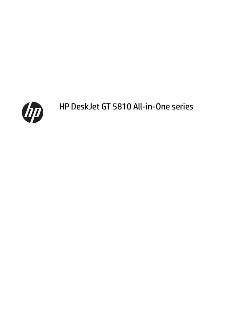 HP DeskJet GT 5810 All-in | manualzz com