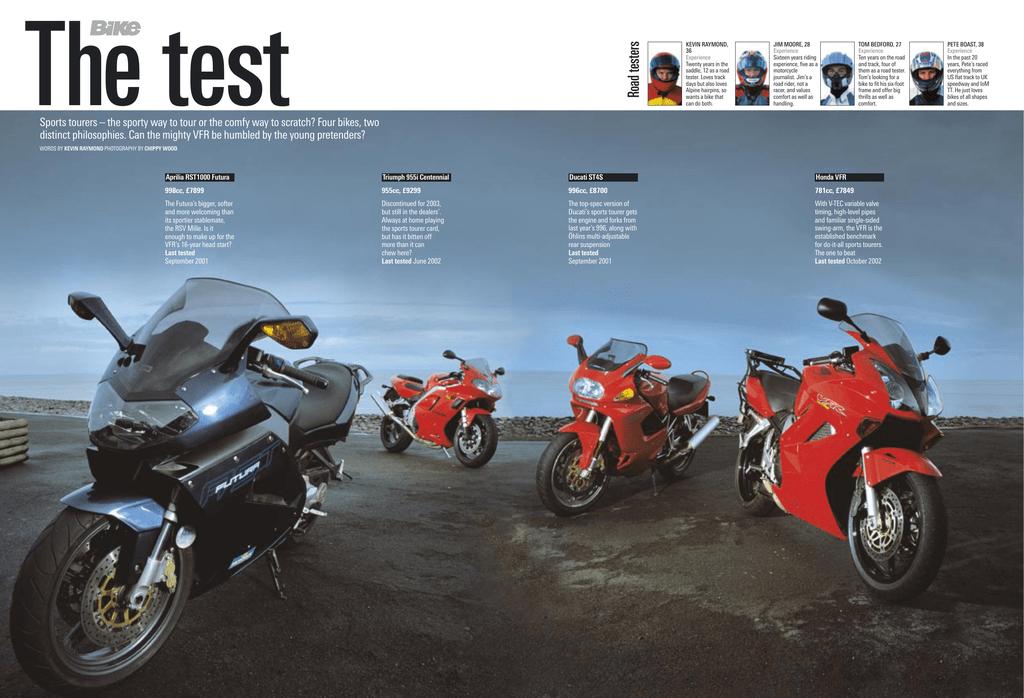 The Road Test Aprilia Rst1000 Futura Manualzz