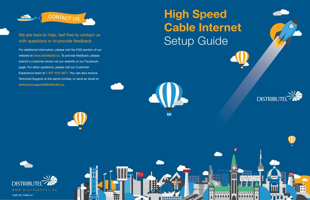 High Speed Cable Internet Setup Guide | manualzz com