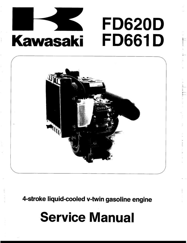 kawasaki fd661 d   manualzz  manualzz