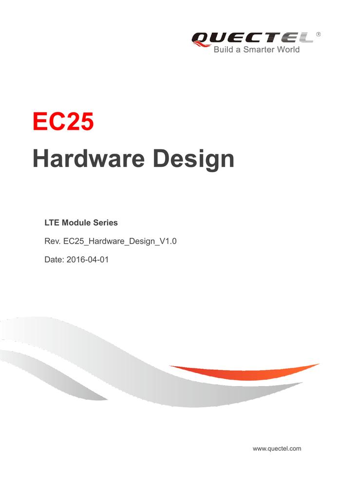 EC25 Hardware Design | manualzz com