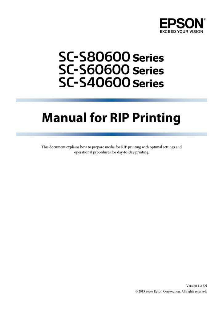 Manual for RIP Printing - Caldera Support Server | manualzz com