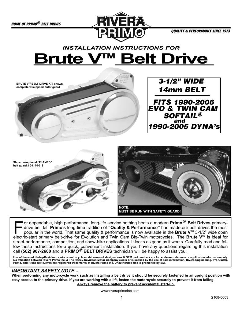 Brute V - Rivera Primo, Inc  | manualzz com