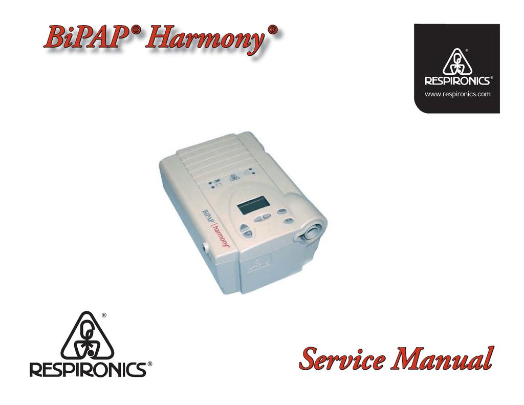 Respironics bipap auto service manual | RESPIRONICS REMSTAR AUTO M